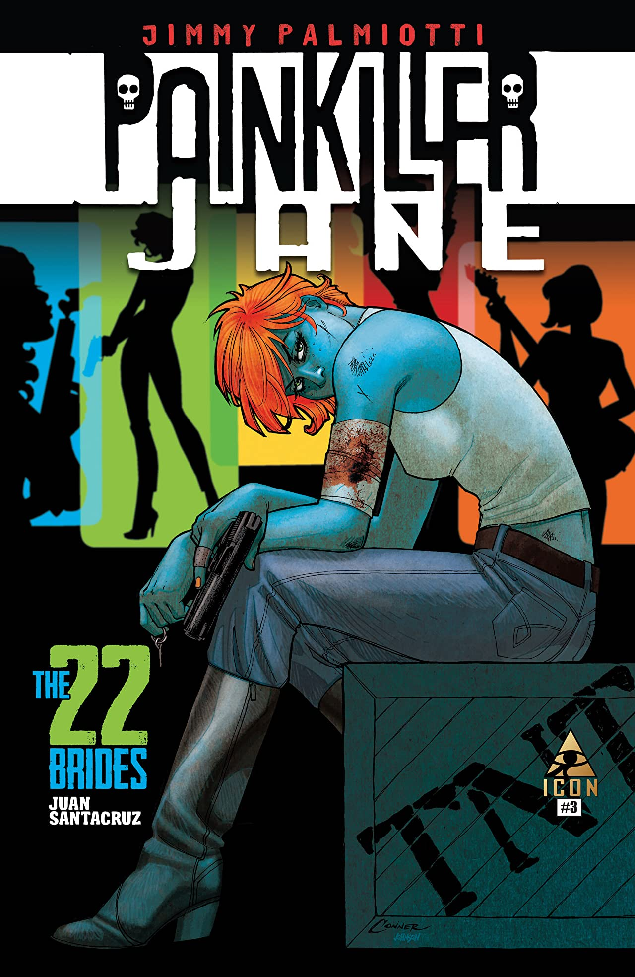 Painkiller Jane: The 22 Brides #3 (of 3)