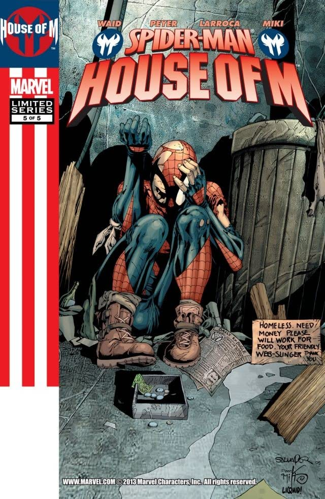 Spider-Man: House Of M #5