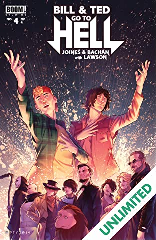 Bill & Ted Go to Hell #4 (of 4)