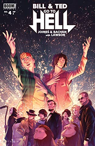 Bill & Ted Go to Hell No.4 (sur 4)