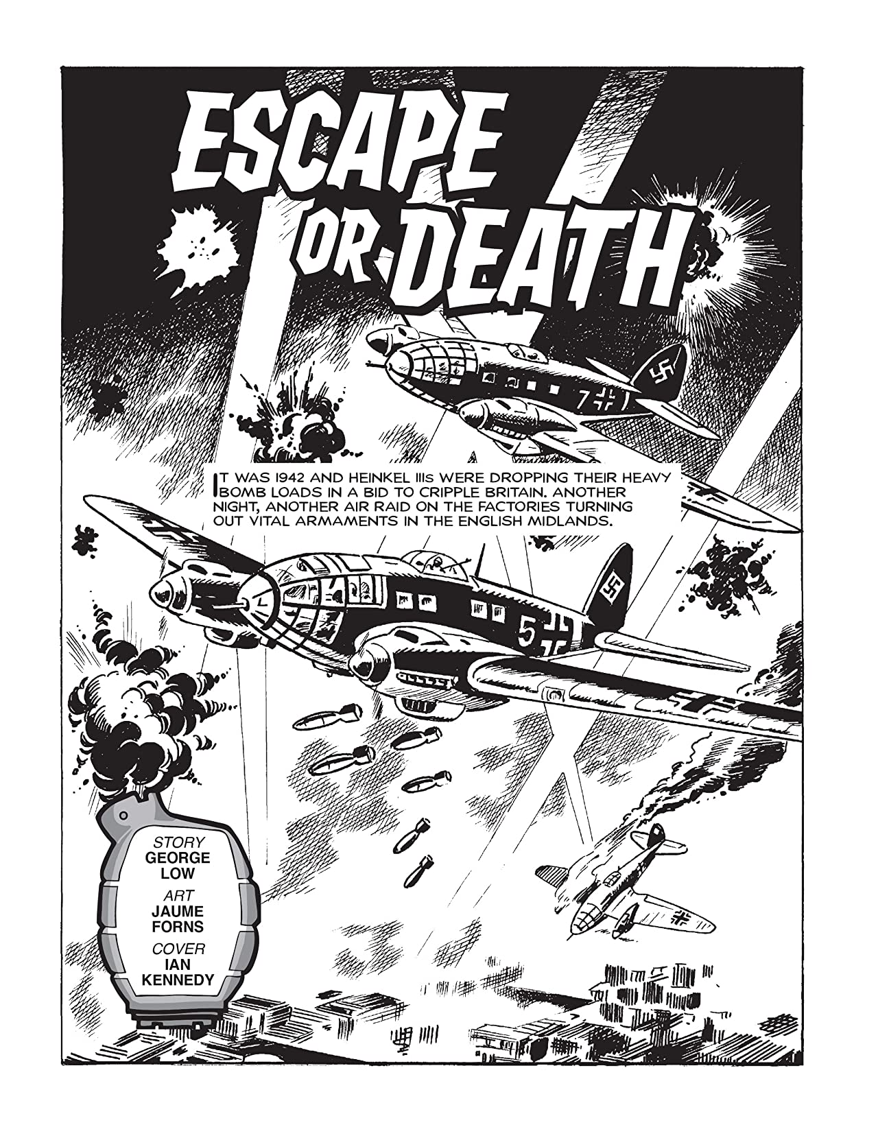 Commando #4909: Escape Or Death