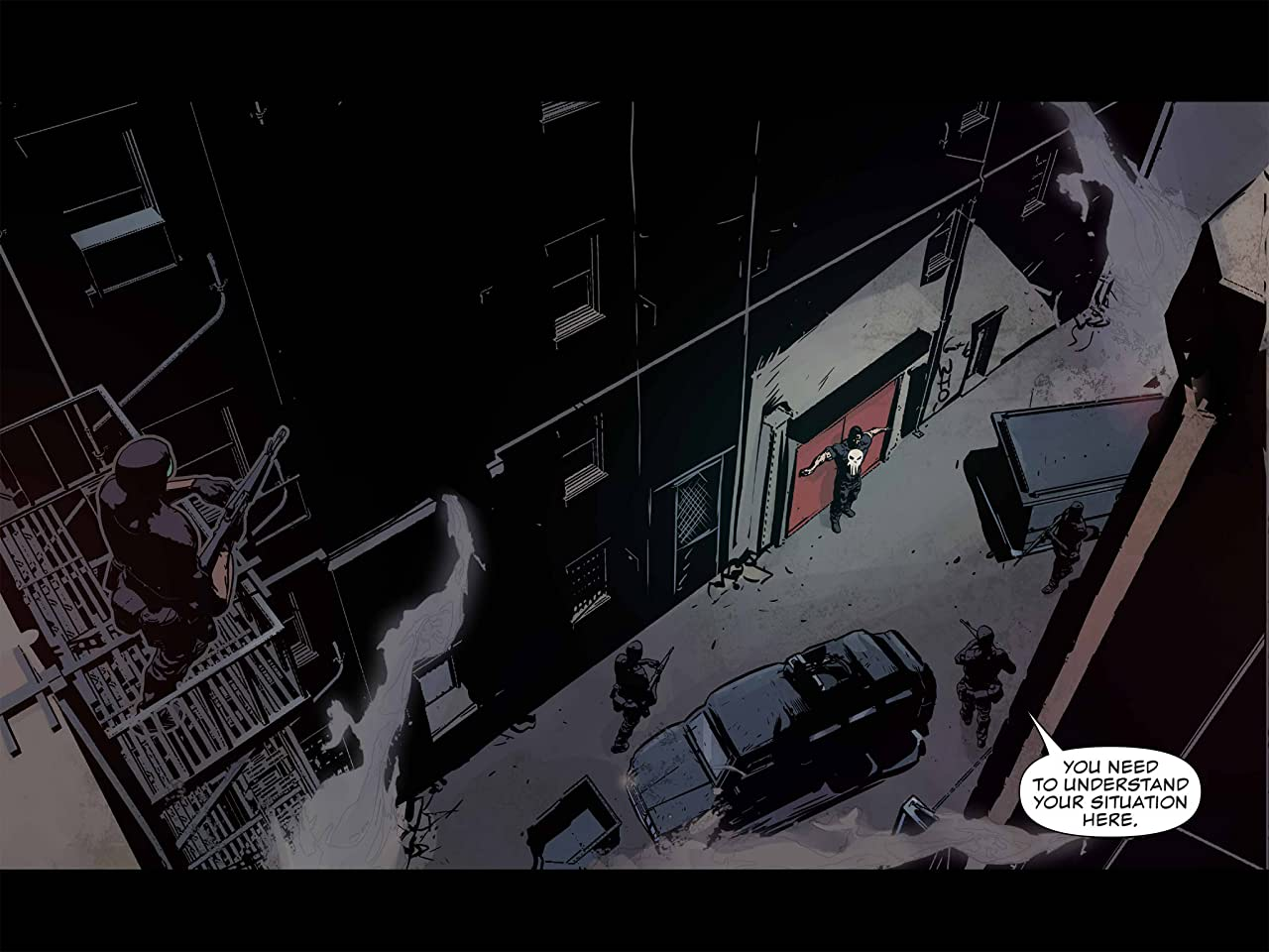 Daredevil/Punisher: Seventh Circle Infinite Comic #5