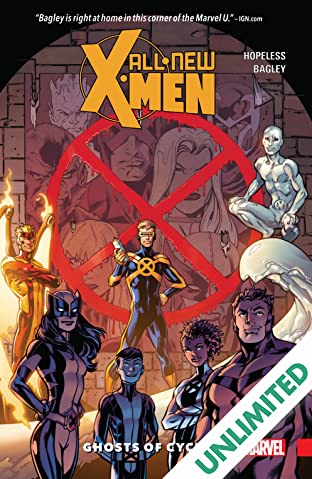 All-New X-Men: Inevitable COMIC_VOLUME_ABBREVIATION 1: Ghosts Of Cyclops
