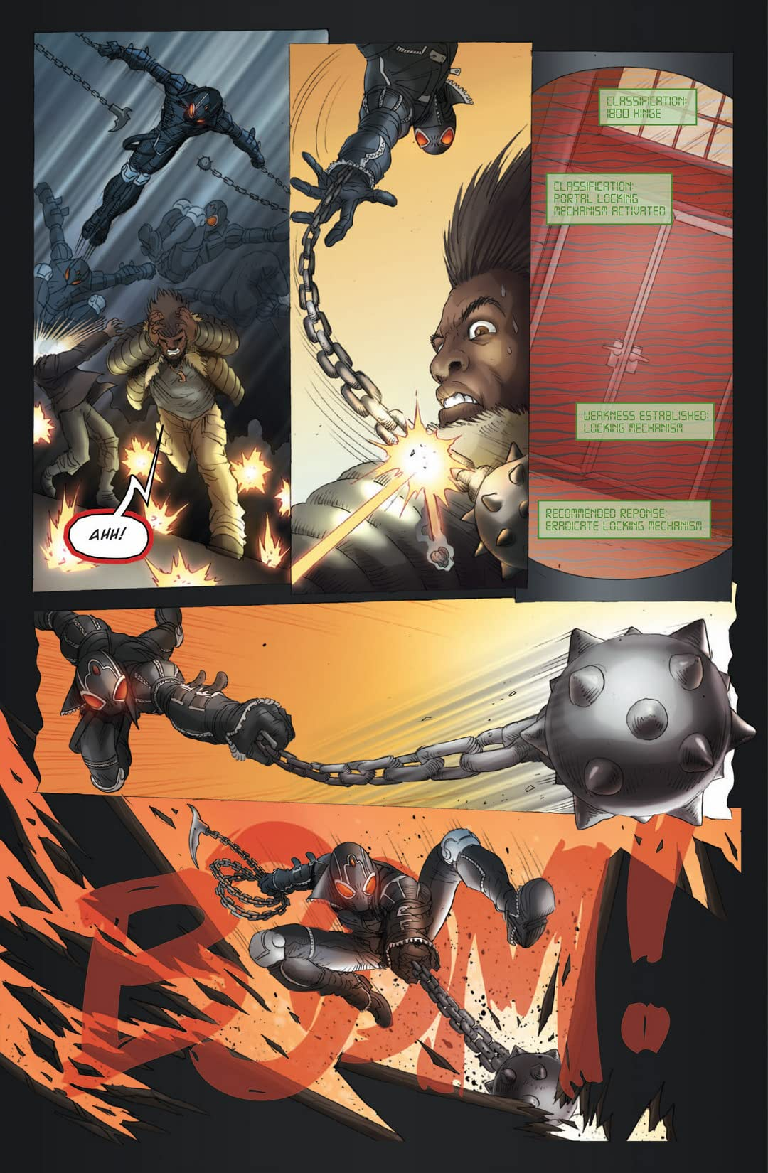 Simmons Comics Anthology