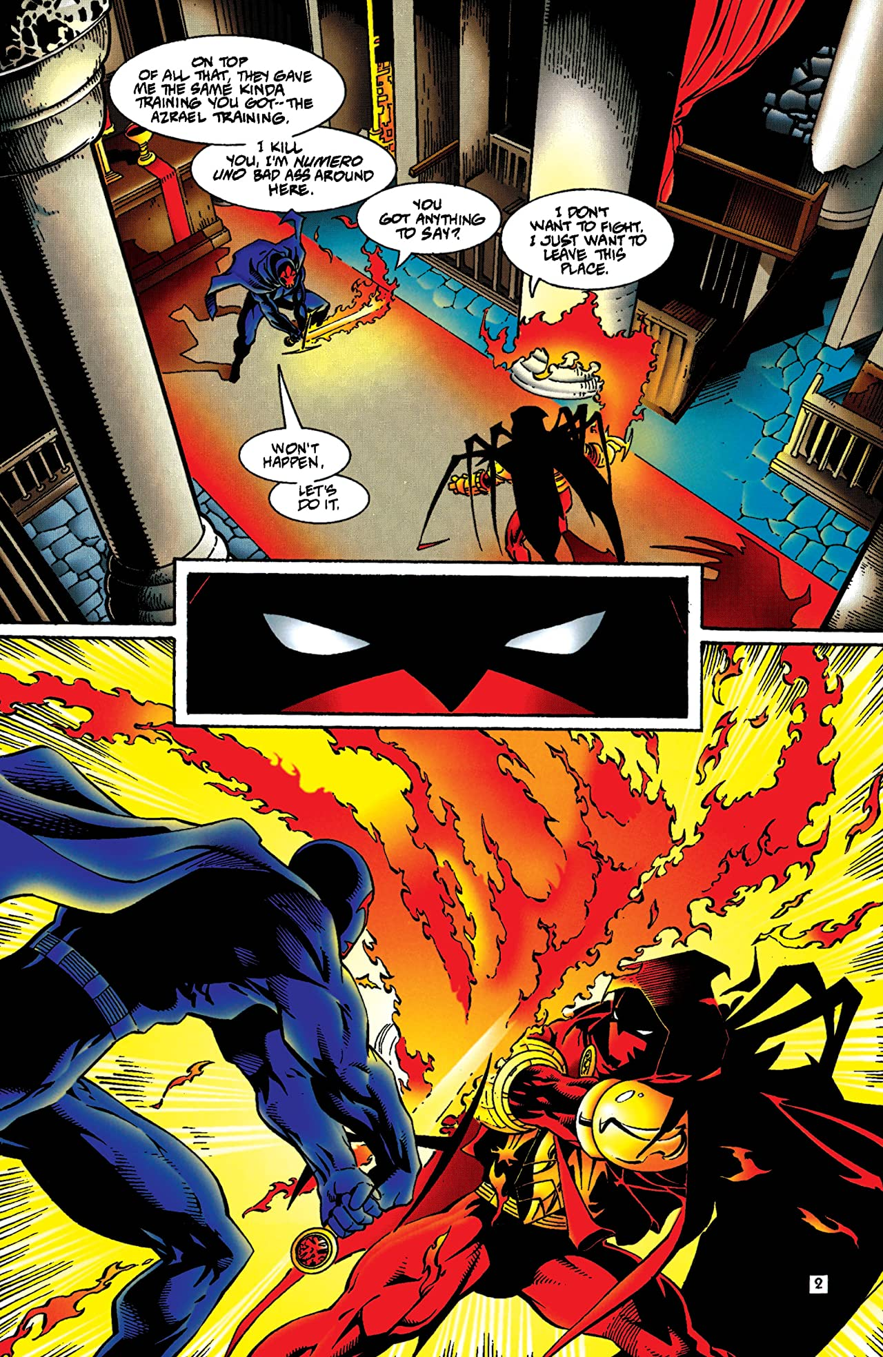 Azrael: Agent of the Bat (1995-2003) #4