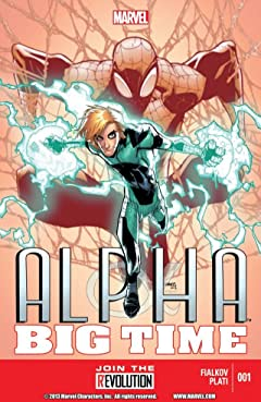 Alpha: Big Time #1 (of 5)