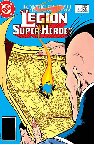 Legion of Super-Heroes (1980-1985) #307
