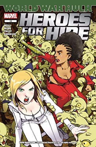 Heroes For Hire (2006-2007) No.12