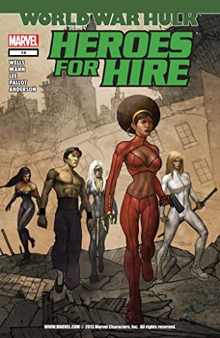 Heroes For Hire (2006-2007) #14