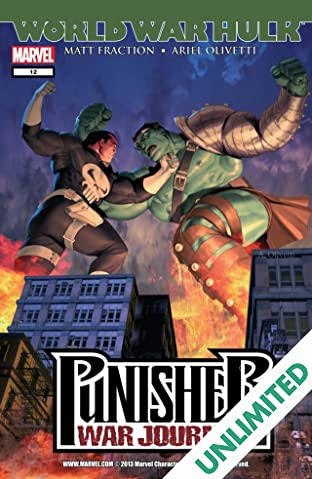 Punisher War Journal (2006-2009) #12