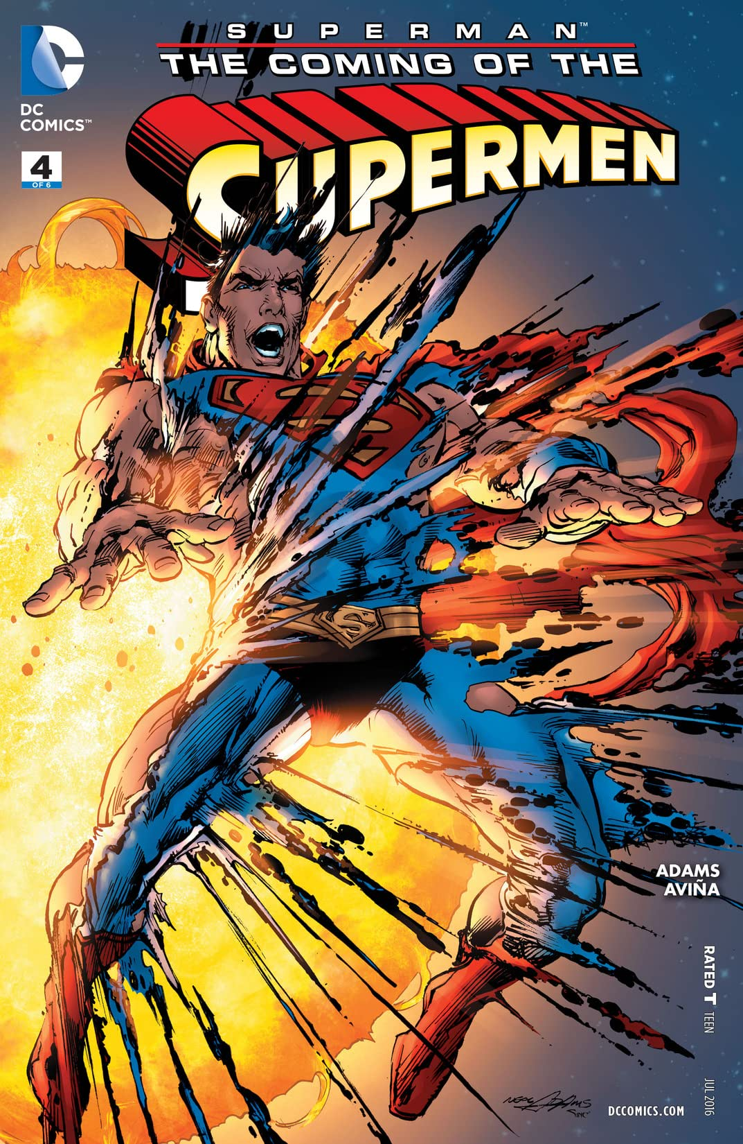 Superman: The Coming of the Supermen (2016) #4