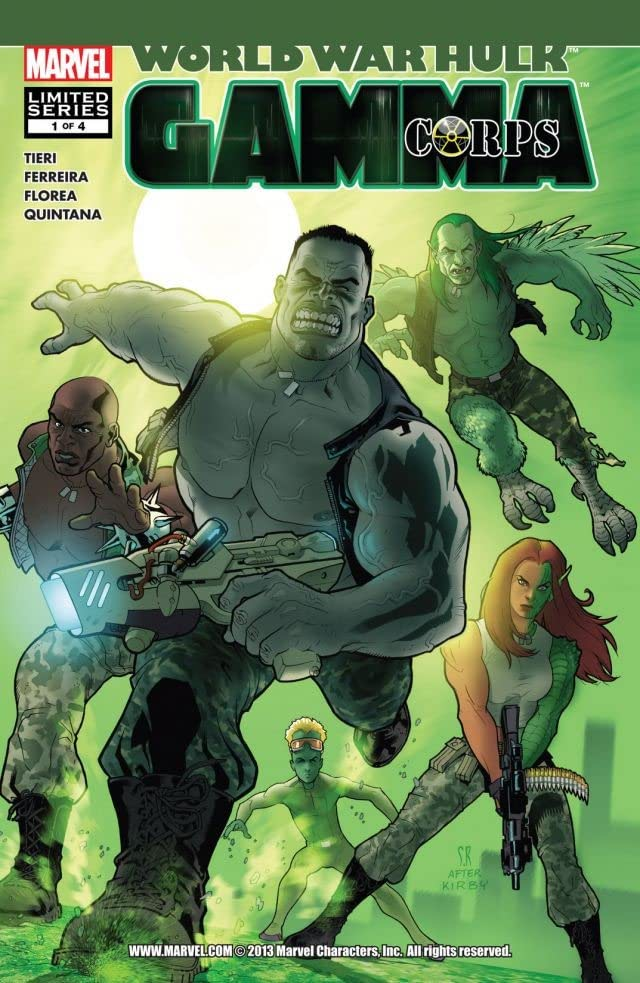 World War Hulk: Gamma Corps #1 (of 4)