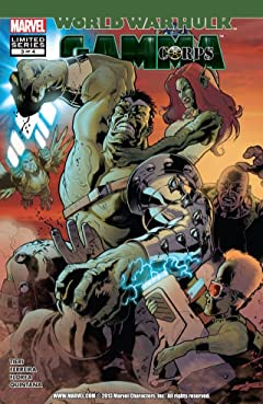 World War Hulk: Gamma Corps #3 (of 4)
