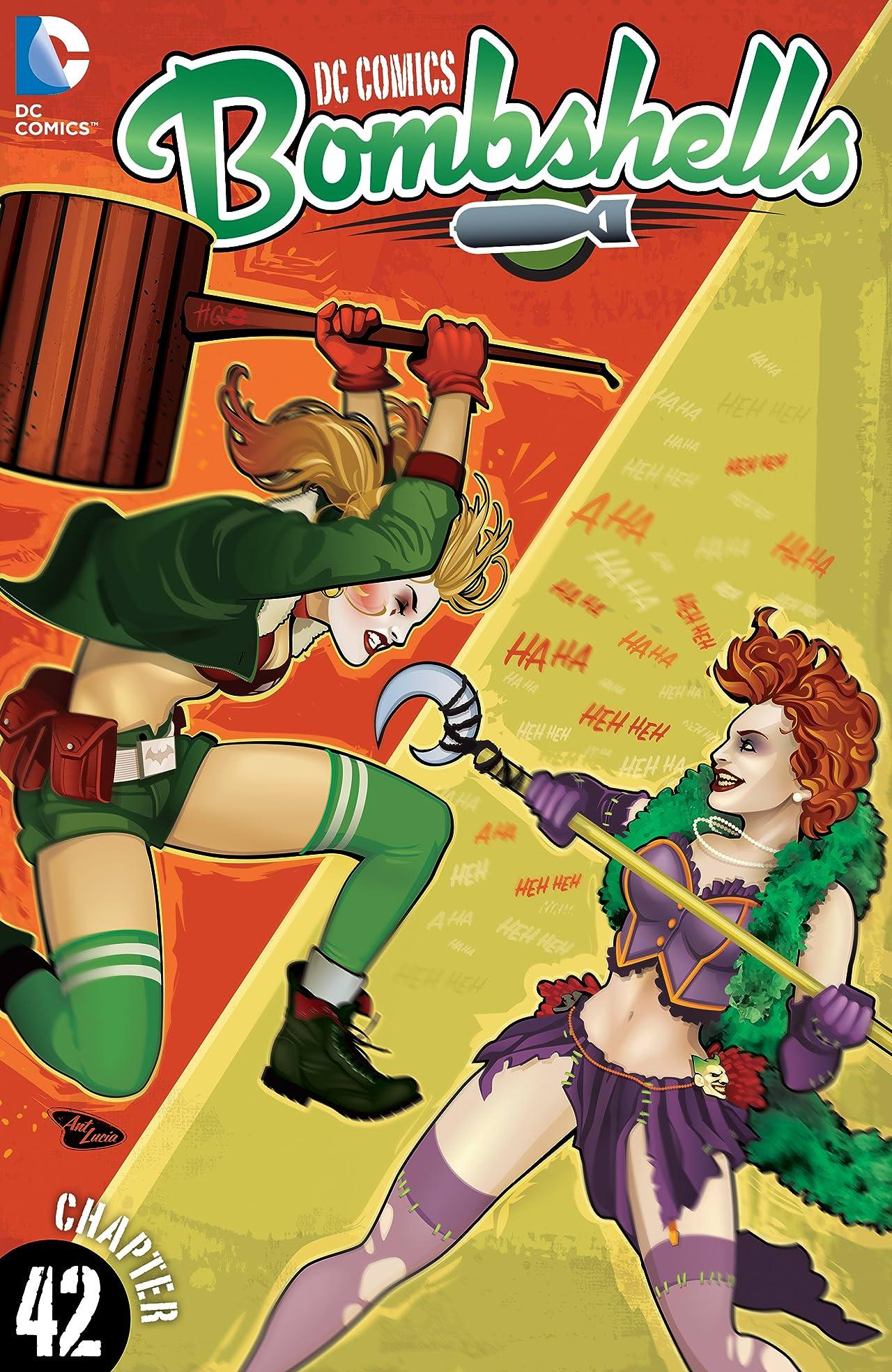 DC Comics: Bombshells (2015-2017) #42