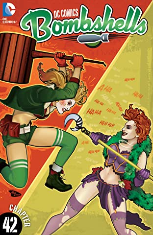 DC Comics: Bombshells (2015-) #42