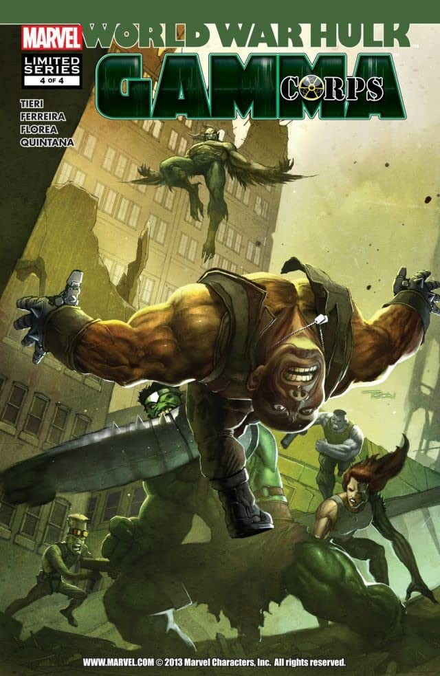 World War Hulk: Gamma Corps #4 (of 4)