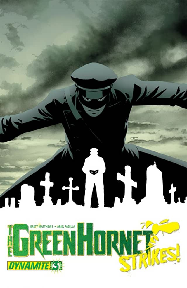 The Green Hornet Strikes! #3