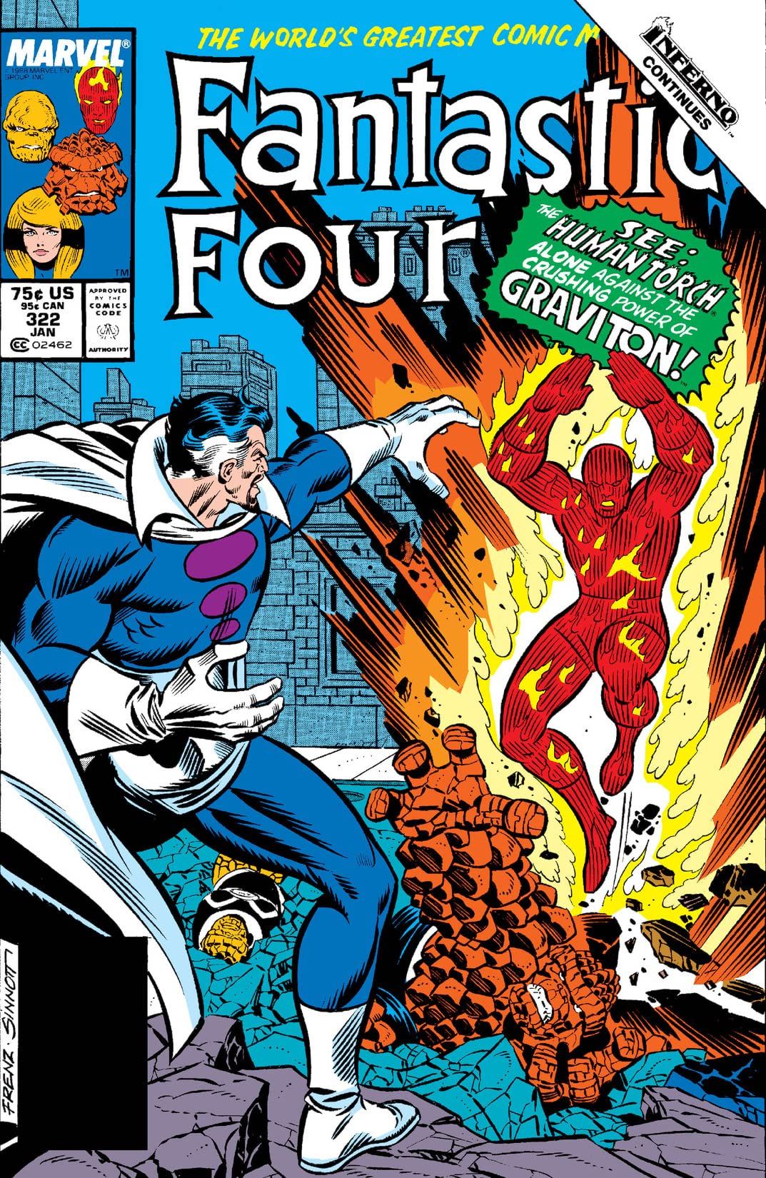 Fantastic Four (1961-1998) #322