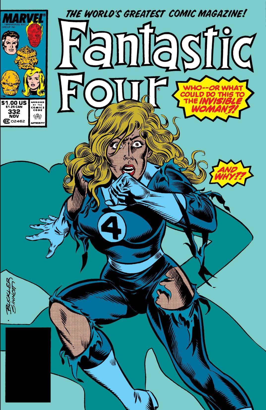 Fantastic Four (1961-1998) #332