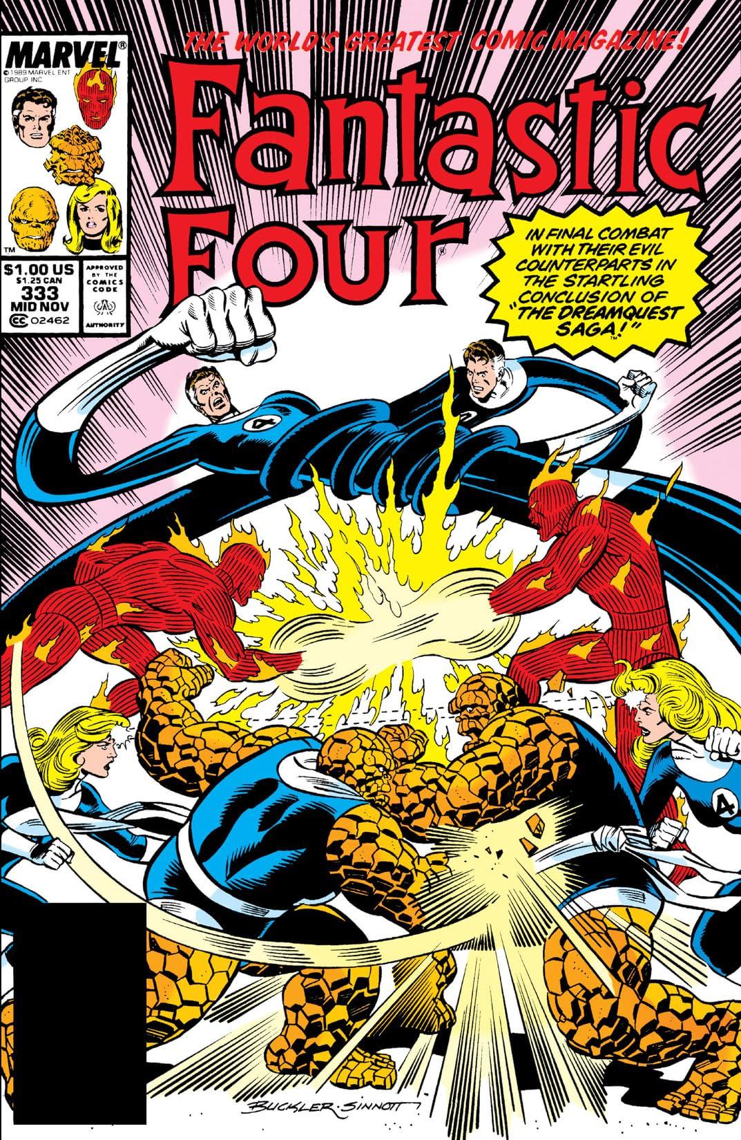 Fantastic Four (1961-1998) #333