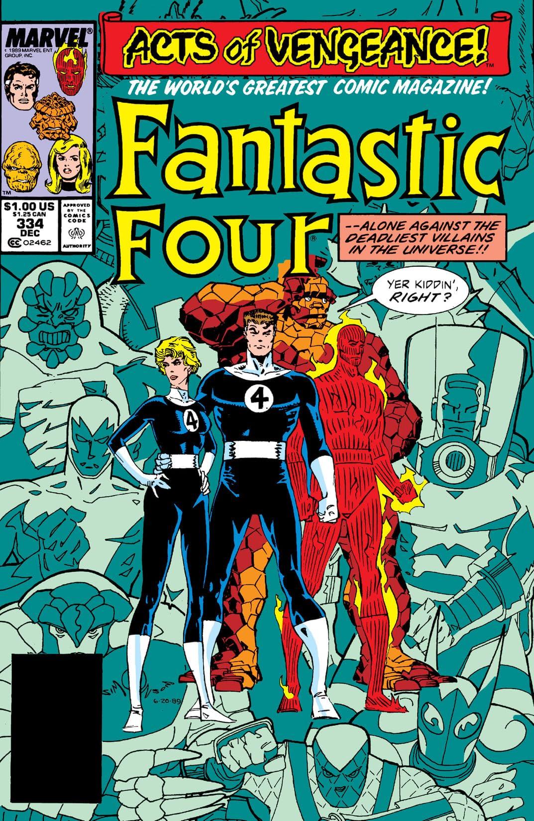 Fantastic Four (1961-1998) #334