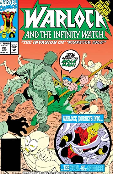 Warlock and the Infinity Watch (1992-1995) #22