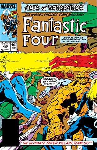 Fantastic Four (1961-1998) #336
