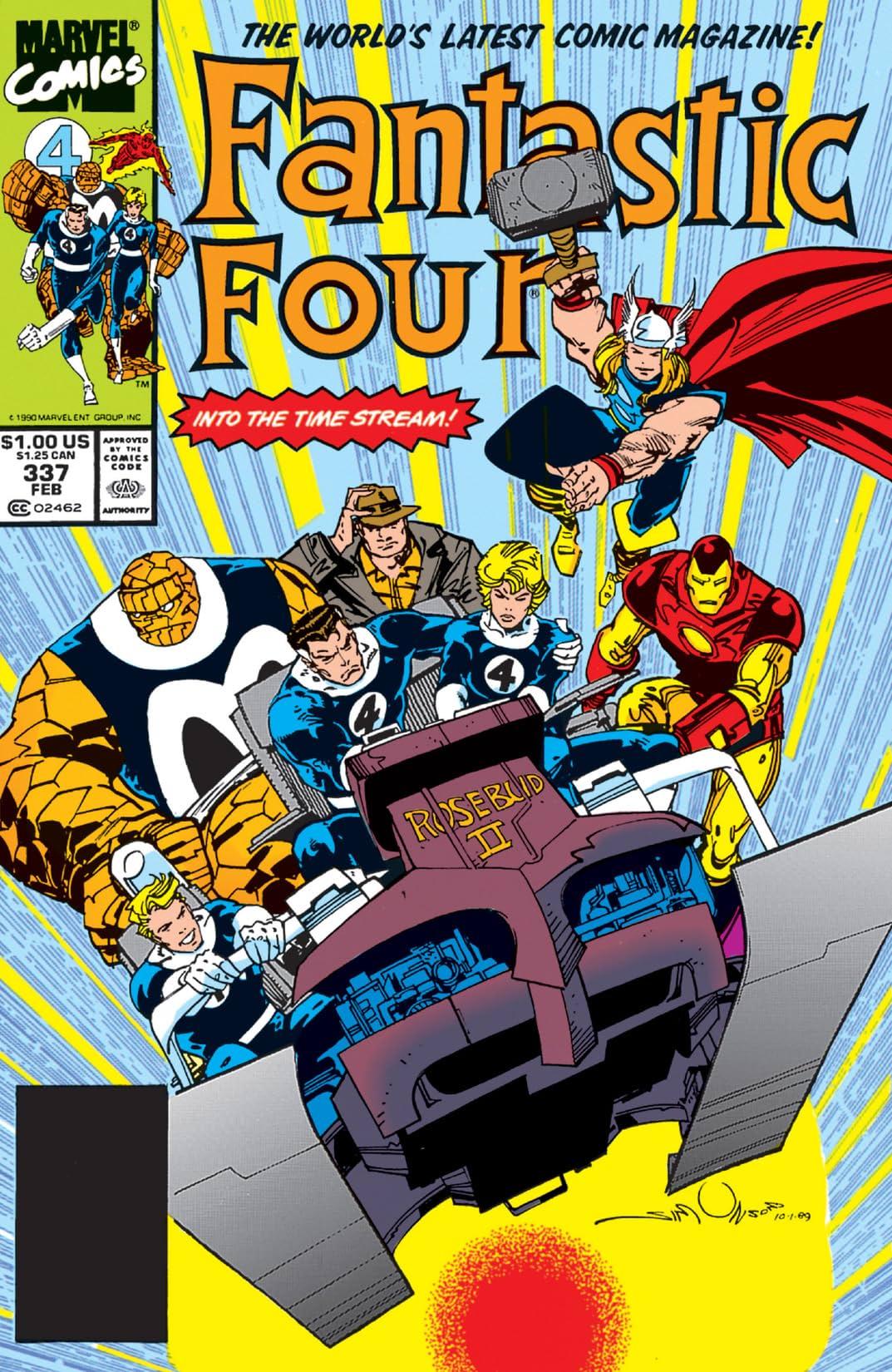 Fantastic Four (1961-1998) #337