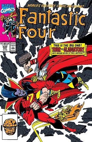 Fantastic Four (1961-1998) #339