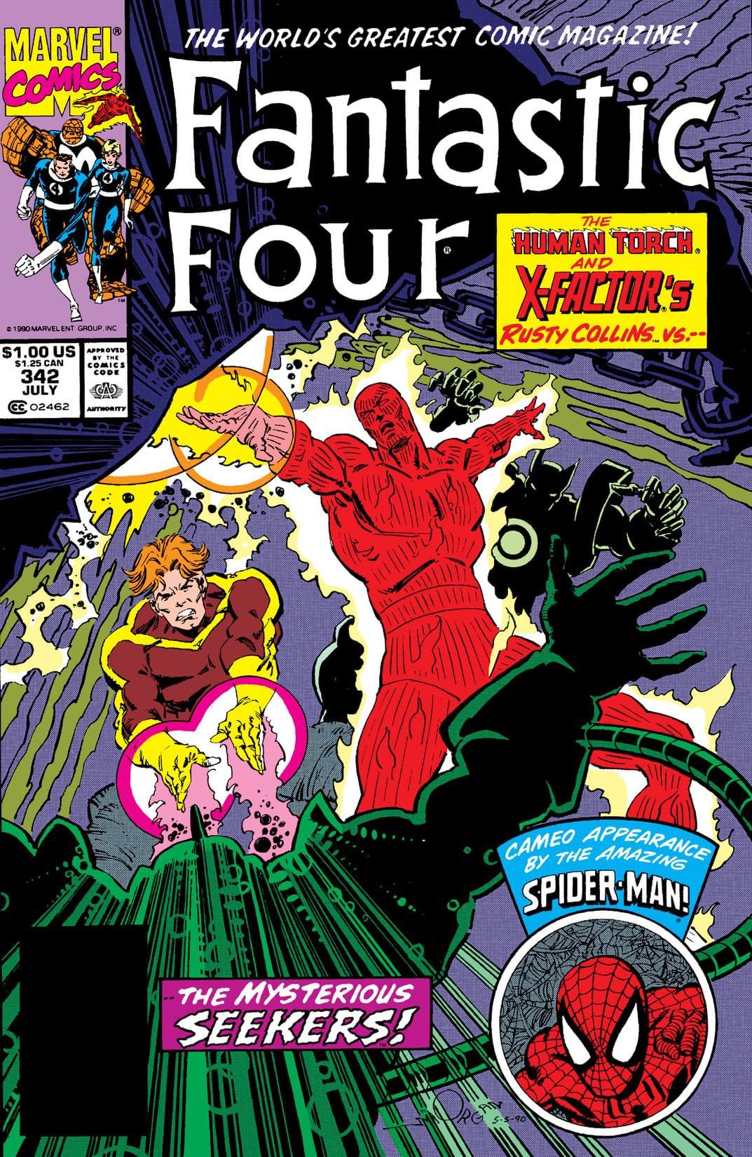 Fantastic Four (1961-1998) #342