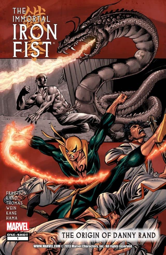 Immortal Iron Fist: The Origin of Danny Rand