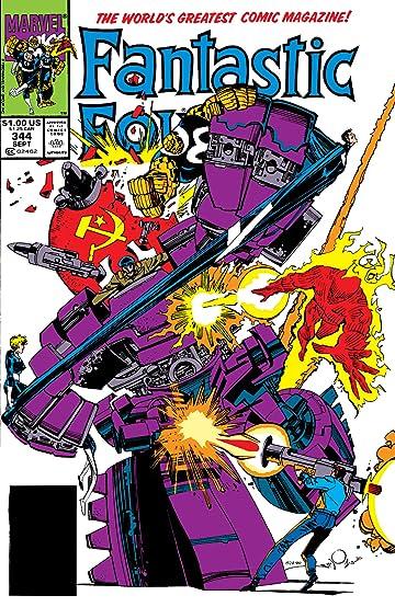 Fantastic Four (1961-1998) #344