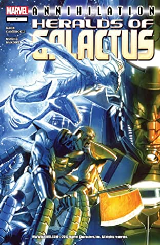 Annihilation: Heralds of Galactus No.1 (sur 2)