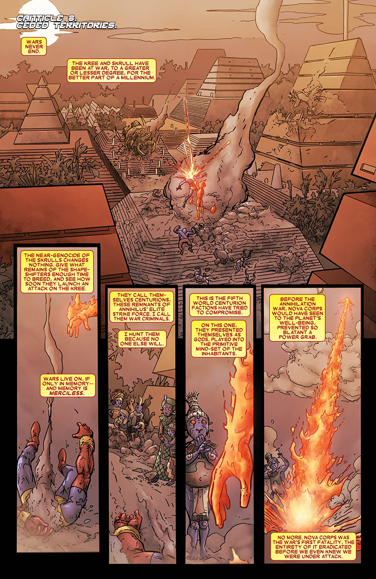Annihilation: Heralds of Galactus No.2 (sur 2)