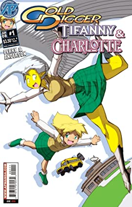 Gold Digger: Tifanny & Charlotte #1 (of 4)