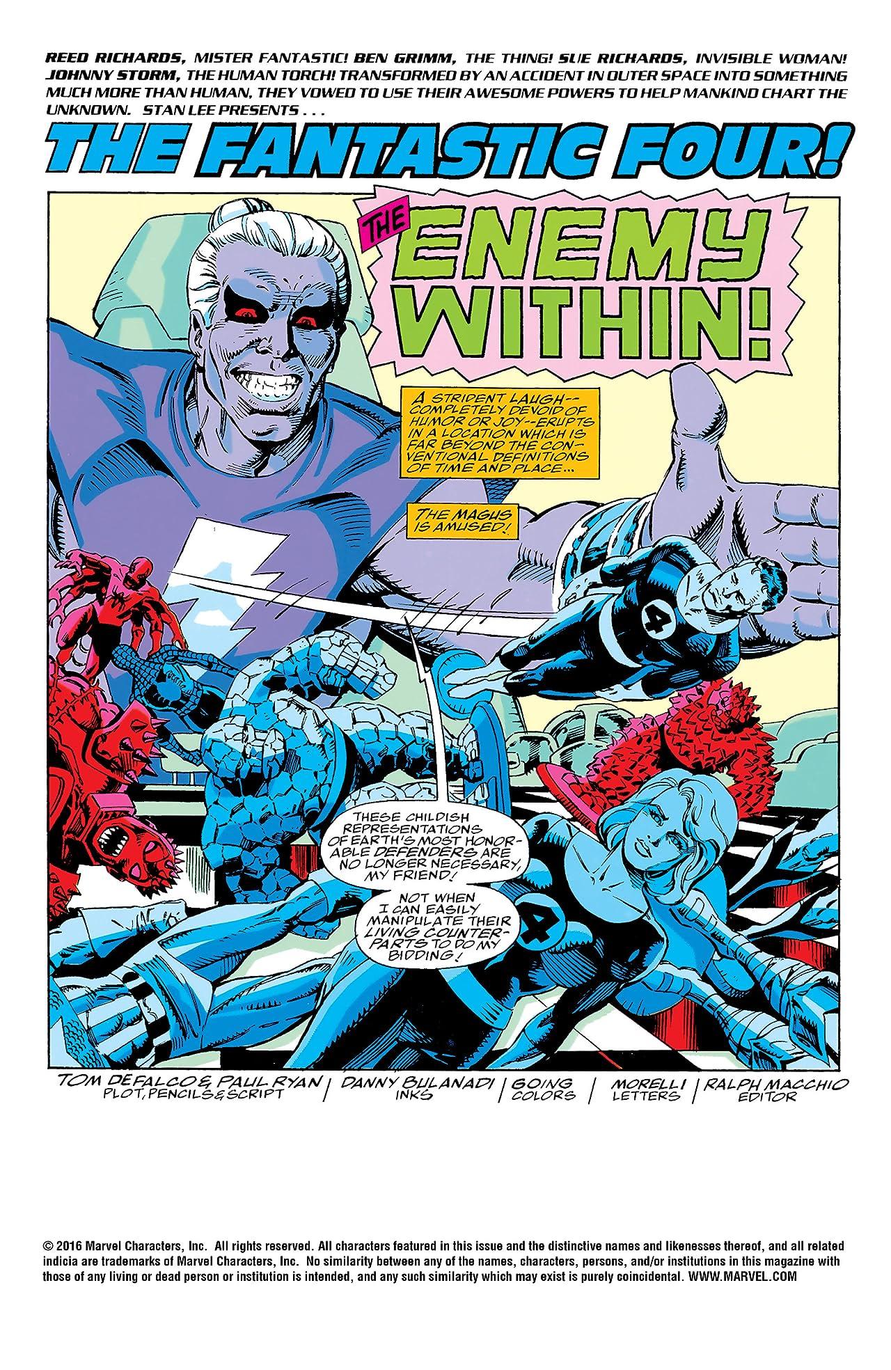 Fantastic Four (1961-1998) #366