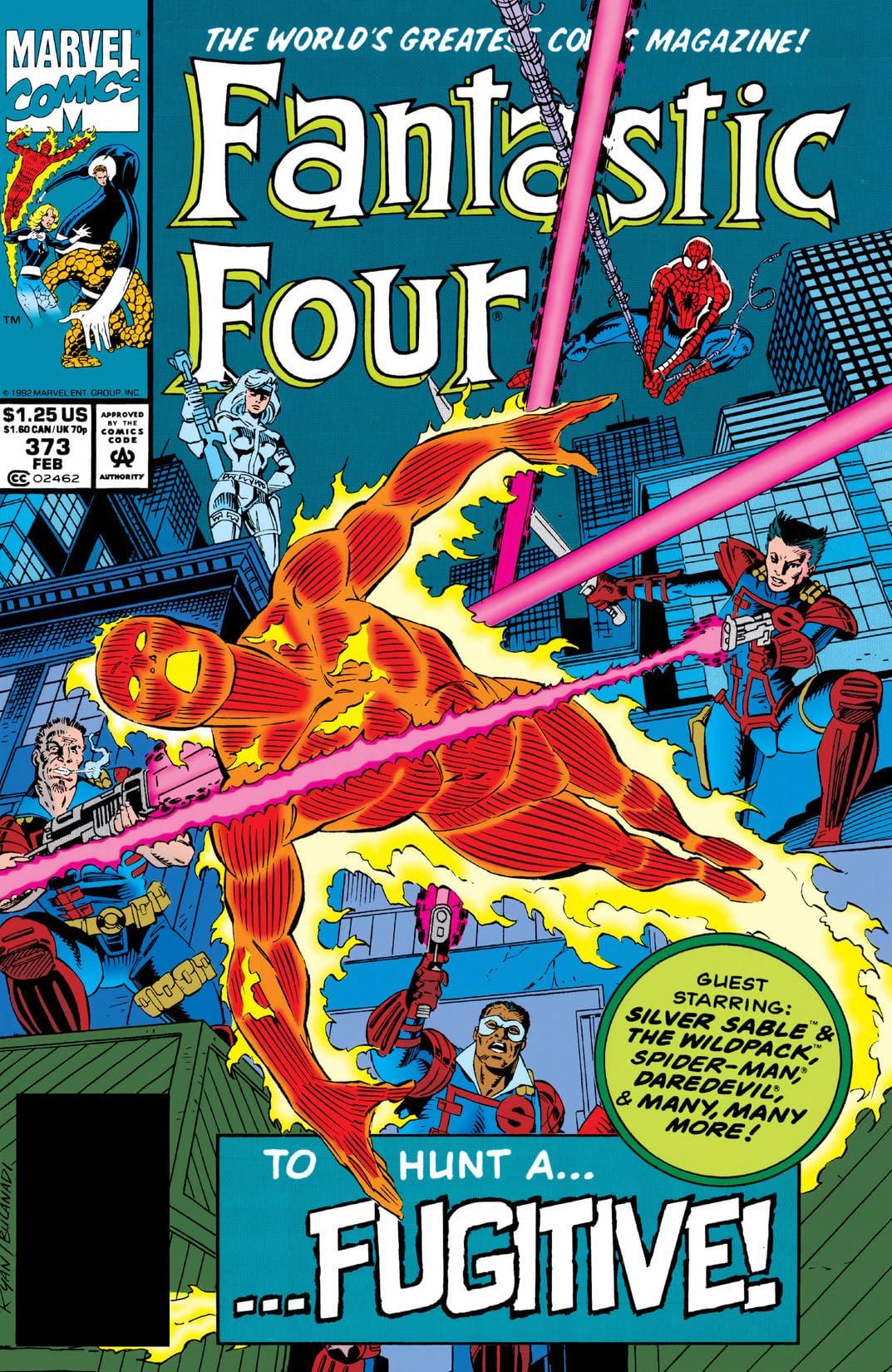 Fantastic Four (1961-1998) #373