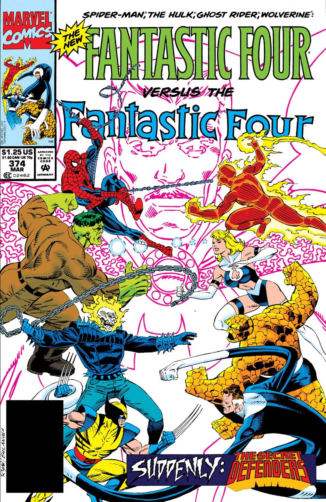Fantastic Four (1961-1998) #374