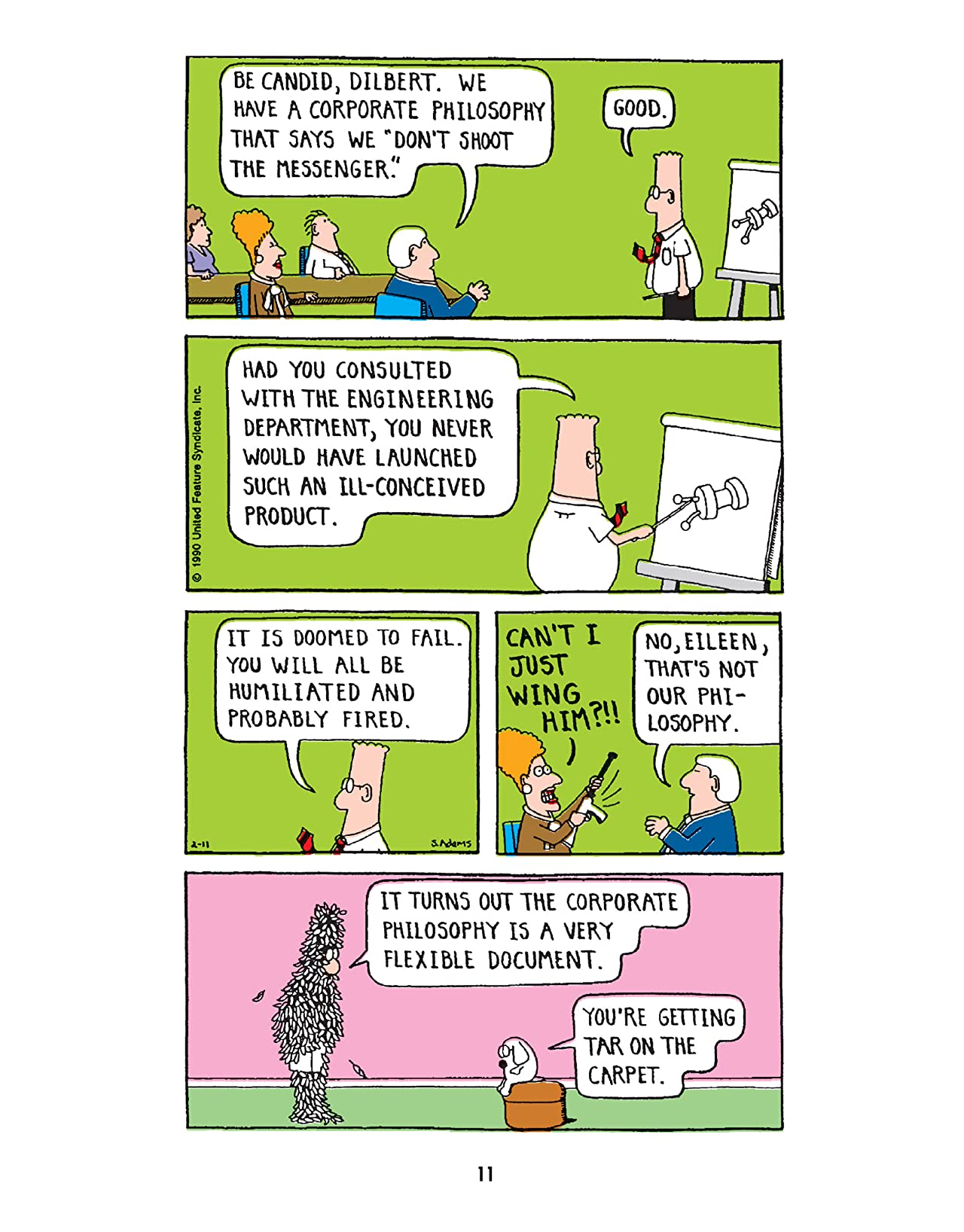 Dilbert Vol  20: What Do You Call A Sociopath in a Cubicle? Answer: A  Coworker