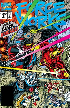 Force Works (1994-1996) #5