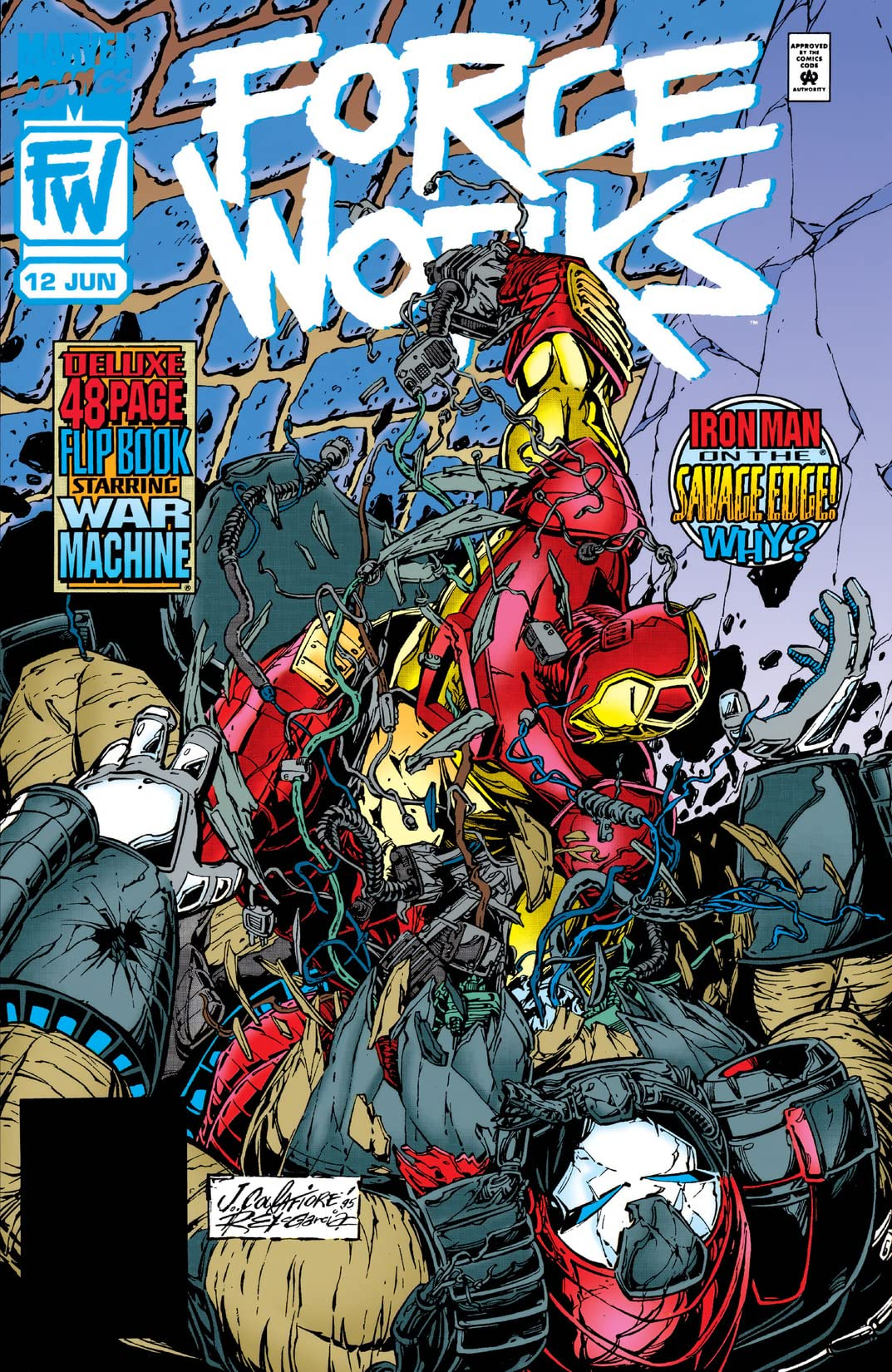 Force Works (1994-1996) #12