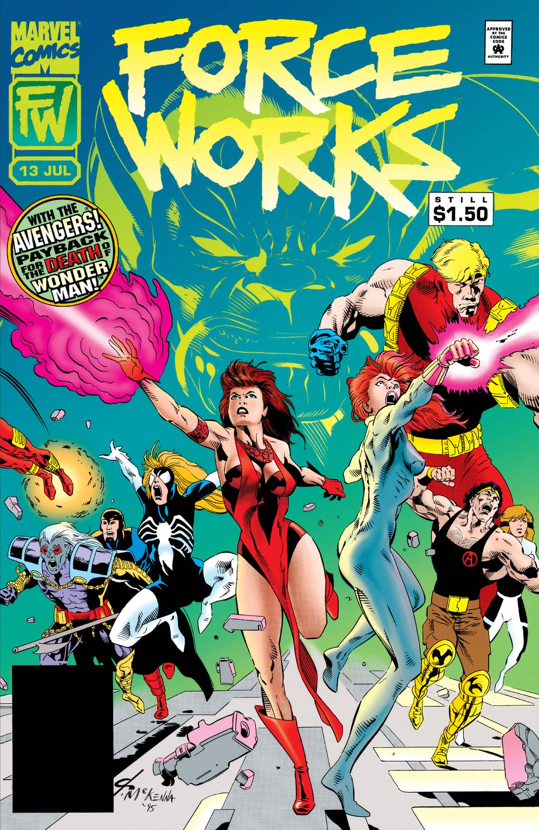 Force Works (1994-1996) #13
