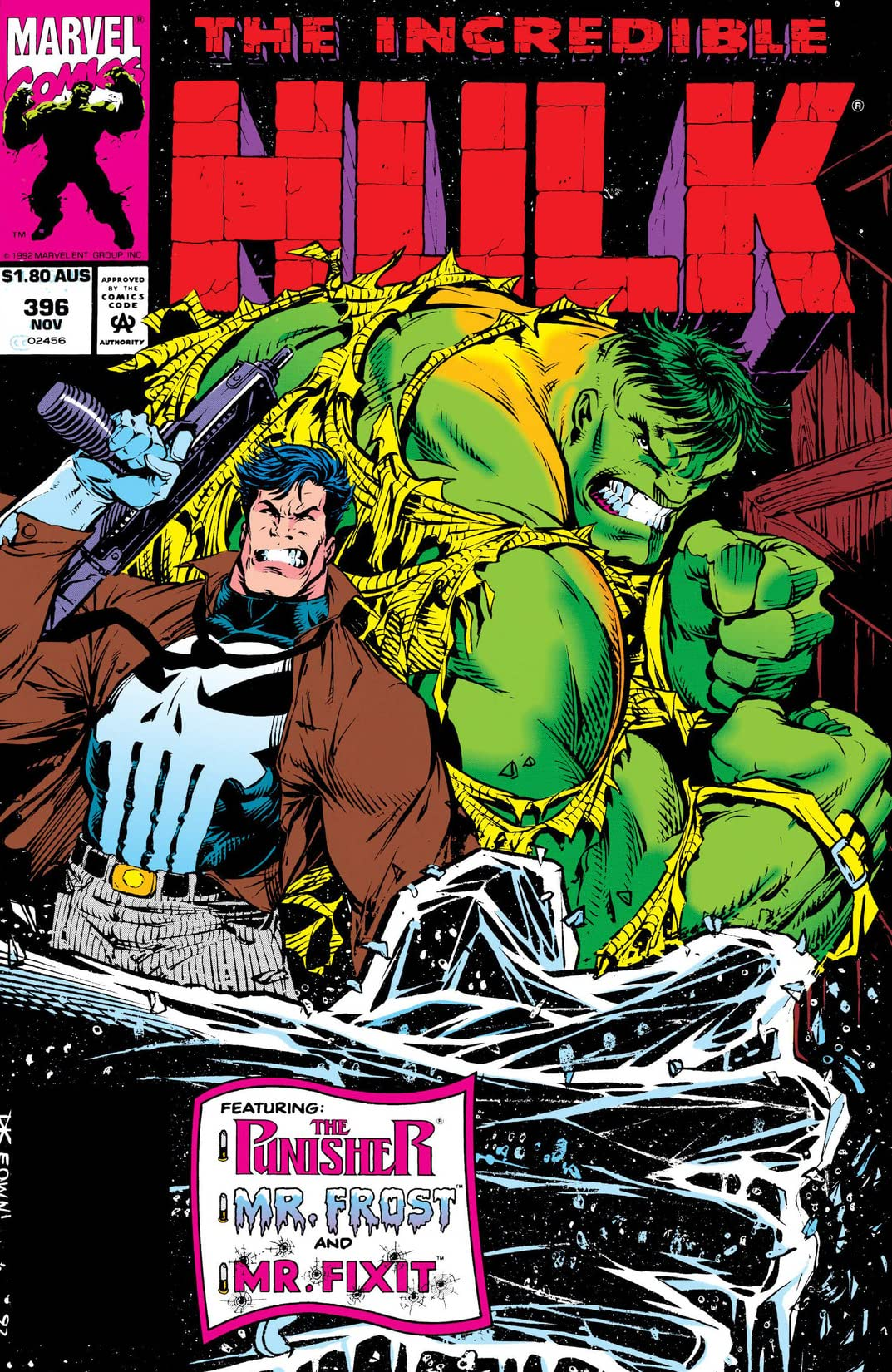 Incredible Hulk (1962-1999) #396