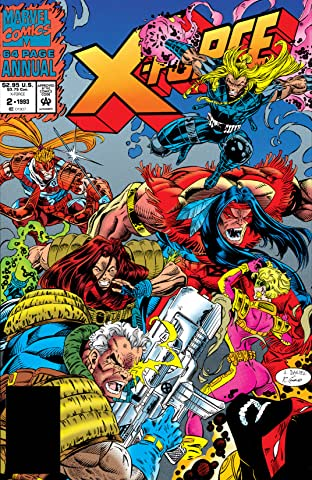 X-Force (1991-2004) Annual #2
