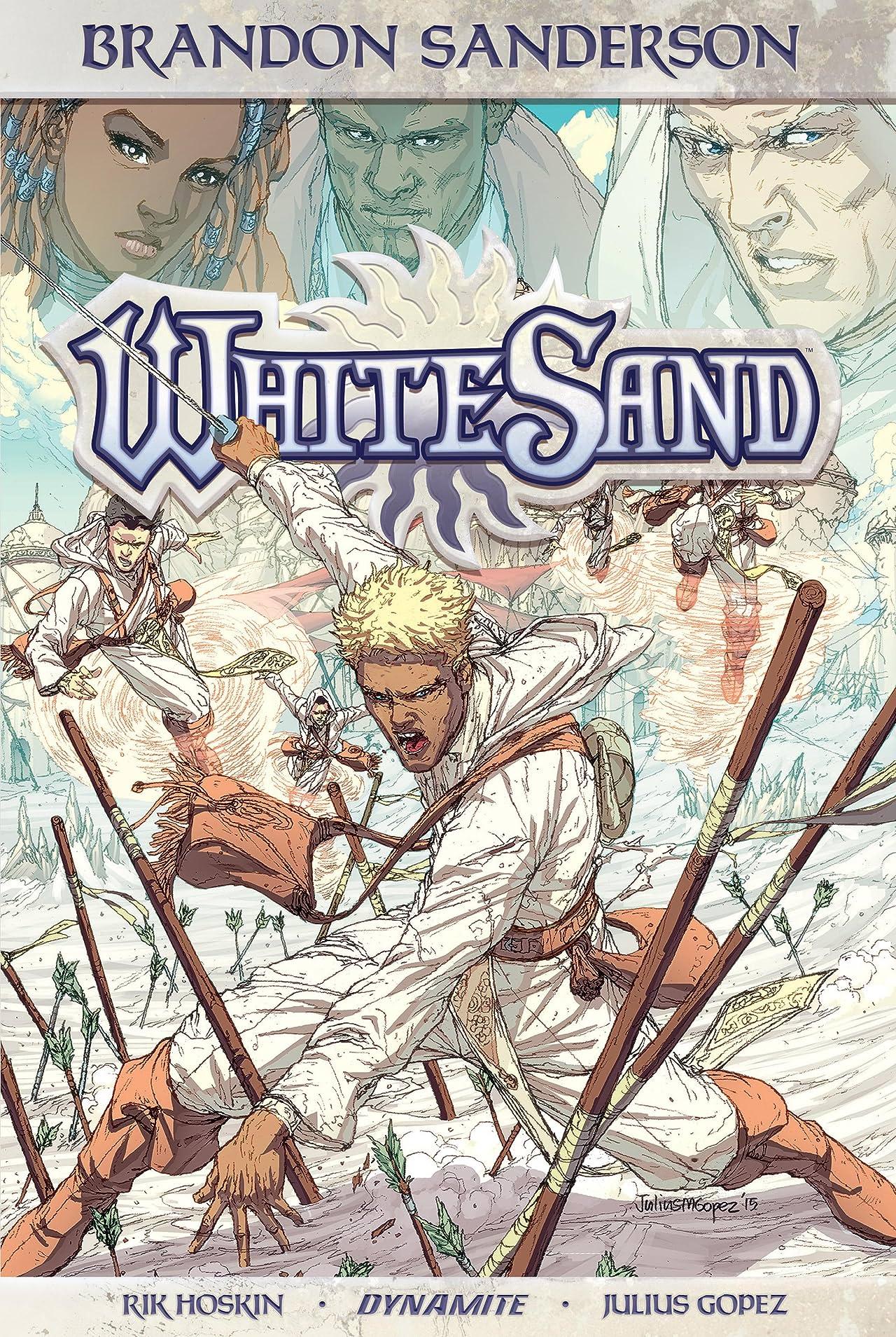 Brandon Sanderson's White Sand Tome 1