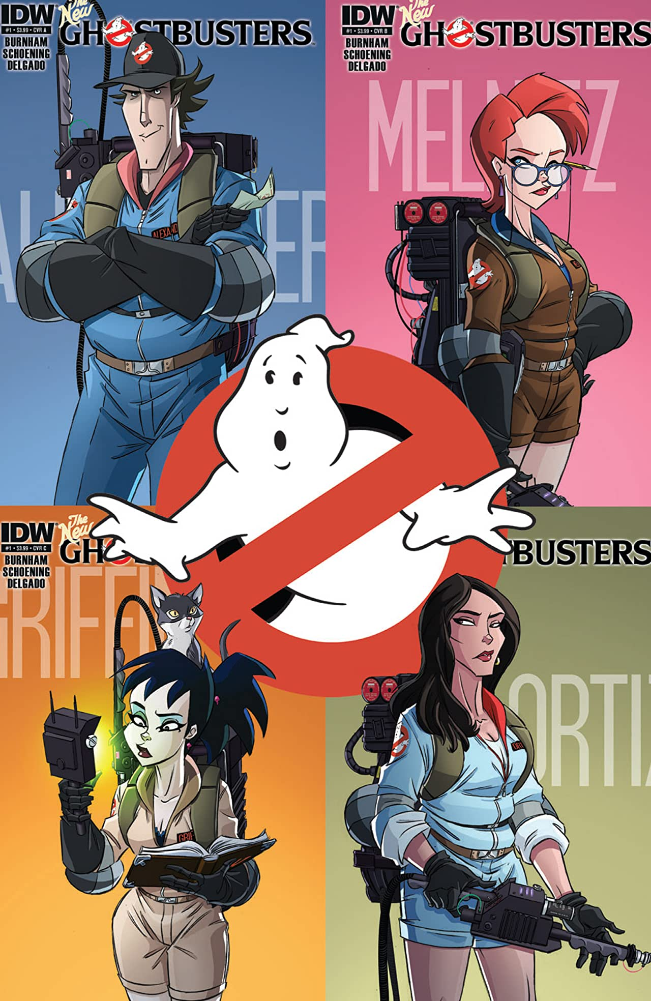 Ghostbusters (2013-2014) #1