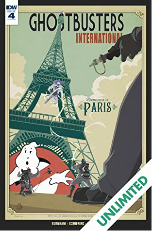 Ghostbusters International #4 (of 4)