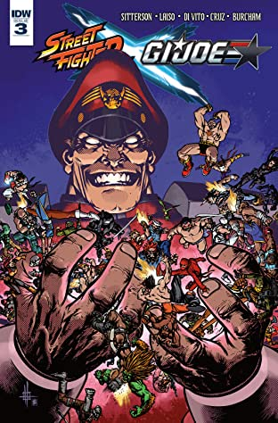 Street Fighter X G.I. Joe #3 (of 6)