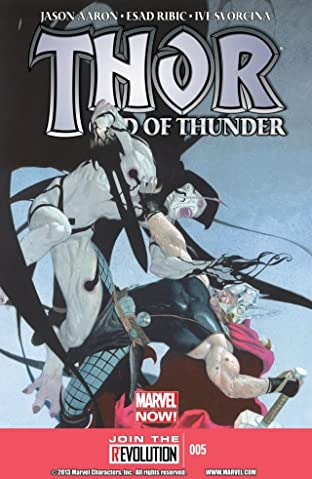 Thor: God of Thunder No.5