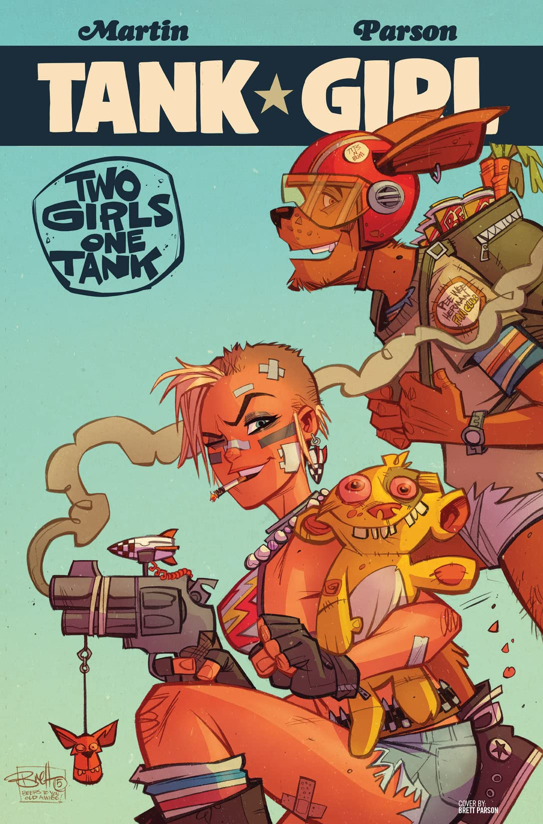 Tank Girl: Two Girls One Tank #2